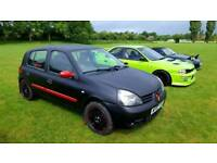 Heavily Modified Renault Clio Campus (see description)