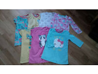 Girls 2-3yrs bightie & onesie clothes bundle