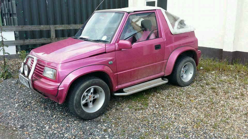 suzuki vitara pink jeep in driffield east yorkshire gumtree. Black Bedroom Furniture Sets. Home Design Ideas