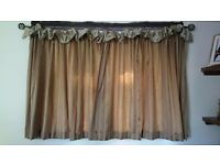 Beautiful made to measure curtains - immaculate condition
