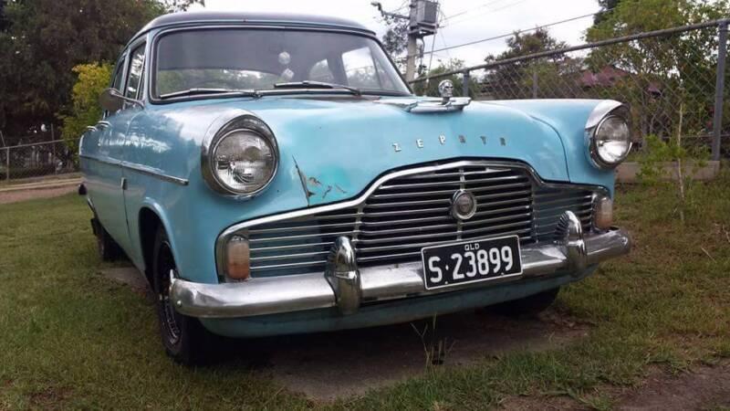 Ford 1958 Zephyr Mk 2