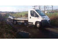 2011 DUCATO Recovery Truck / Car Transporter, Alloy Body, Extended ramps etc