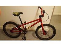 mongoose bmx bike (not mountain bike kids bike)