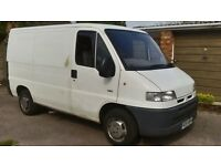 CITROEN RELAY 1.9 DIESEL same as fiat, peugeot etc transit sized