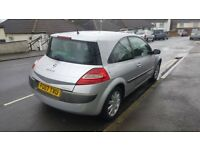 Renault Megane 1.9 dCi Dynamique 6 speed diesel manual 3dr (130 bhp)start and drive very well