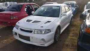 Mitsubishi evo 6 WRECKING ALL PARTS  ralliart cp9a Berkshire Park Penrith Area Preview
