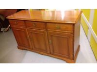 Sideboard,Younger Furniture,cherry wood,3 drawers,3 cabinets