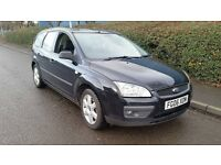 ford focus 1.6 tdci 2006 06 black estate needs slight attention hence the price