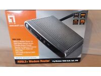 Level One ADSL2+ Modem Router WBR-3460 Brand New & Sealed Contents
