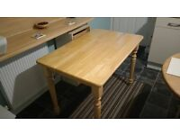 Dining Table Butchers Block Design