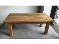Solid Oak Coffee table or side table