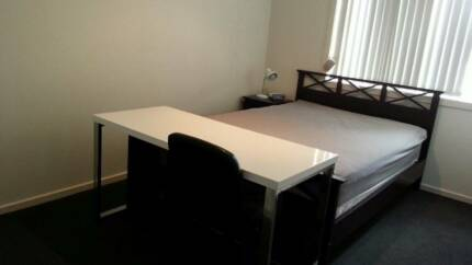 NOW AVAILABLE - Bedroom with Double Bed, Desk & Wardrobe