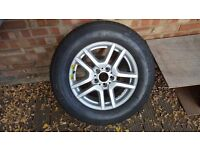 BMW X5 spare wheel,Michelin 235/65 R17 104H