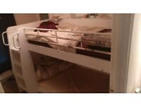 Domino Storage Bunk Bed for Kids with Memory Mattresses