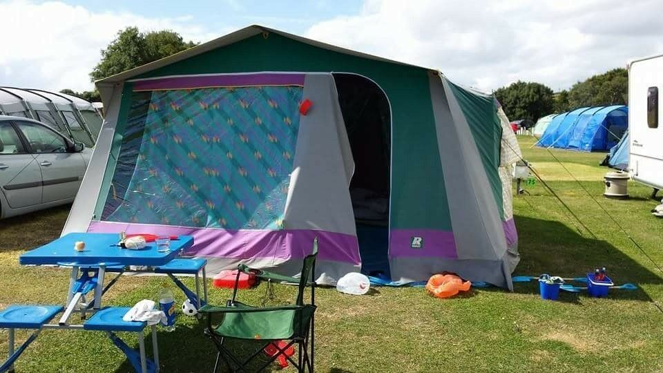 Large family canvas tent & Large family canvas tent | in Caldicot Monmouthshire | Gumtree
