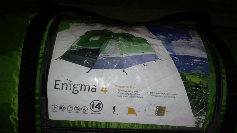 Hi Gear Enigma Tent 4 used only once. & Hi Gear Enigma Tent 4 used only once. | in Salford Manchester ...