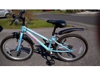 Apollo Girls Bicycle for sale, excellent condition, suit 5 to 10 age range