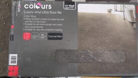 Colours luxury vinyl click tiles £25 per pack