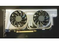 MSI Gtx 560ti, Nvidia graphics video card.