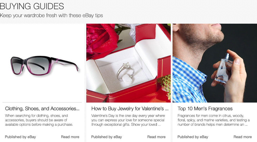 Buying Guides | Keep your wardrobe fresh with these eBay tips