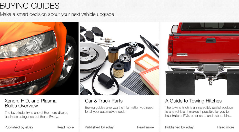 Buying Guides | Make a smart decision about your next vehicle upgrade