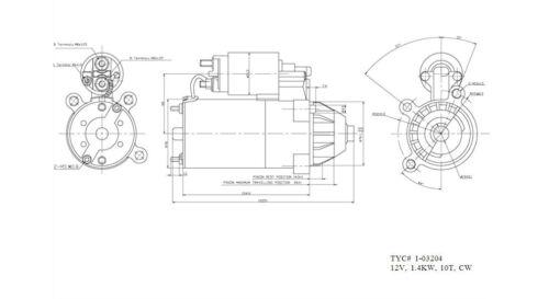 [DIAGRAM_3NM]  Starter Motor fits 1990-1997 Mercury Sable Topaz TYC | eBay | 1990 Mercury Sable Engine Diagram |  | eBay