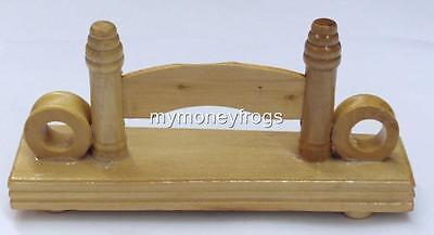 Chinese Bamboo Hand Wood/Silk/Paper/Lace Folding Fan Stand Display Base Holder