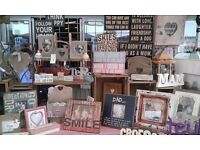 I AM LOOKING TO BUY JOB LOT OF SHABBY CHIC GIFTWARE