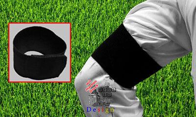 Trauerflor schwarze Armbinde Fußball Klettverschluss Trauerband NEU