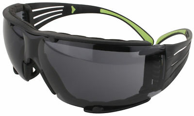 3m Securefit Safety Glasses With Foam Padding And Gray Anti-fog Lens