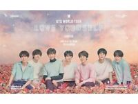 2x BTS seated tickets - London O2 Arena, 10/10/2018