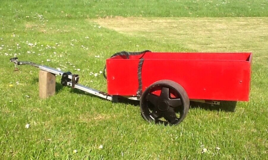 Small Trailer For Mobility Scooter At Mablethorpe Lincs