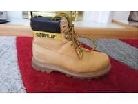 Cat boots shoes 6 men leather steel toe cap