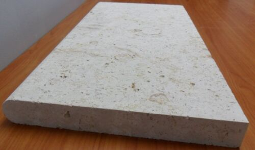 """CORALSTONE NATURAL POOL COPING 12""""X24""""X1.3/4"""" $9.50 LF"""