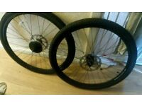 700c disc wheels set