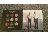 2 twenty one pilots vinyl albumns. Vessels and blurryface.
