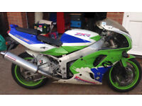 Breaking Kawasaki ZXR 750 L1 1993 Most Parts Available
