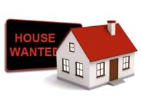 Wanted 2 or 3 bedroom HOUSE with gaarden