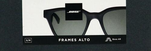 BoseFrames Alto Small Audio Sunglasses with Bluetooth Connectivity - Black NEW