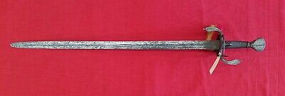 Rare Early 17th Century North European Broadsword