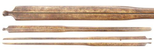 Antique Japanese Brass Waribashi Kogai Samurai Sword Tsuba Koshirae Kozuka