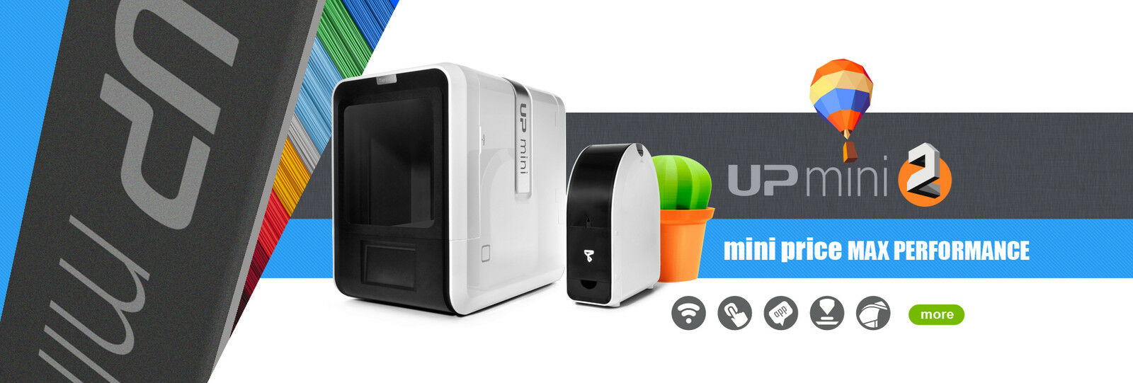 UP 3D Printer Store - Tiertime