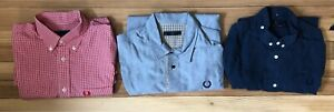 Fred Perry small shirts long sleeve