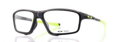 - Oakley RX Eyeglasses OX8076-0256 Crosslink Zero Polished Black Ink [56-16-138]