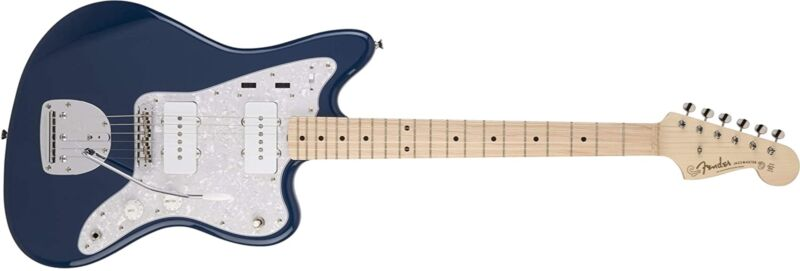 Fender Electric Guitar MIJ Hybrid Jazzmaster Indigo Maple Fingerboard NEW