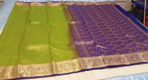Kanchipuram Soft Silk Saree #KAN 009 / Sari / Salwar / Bollywood Dress