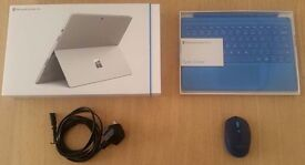 NEW Microsoft Surface Pro 4 M3 + Accessories