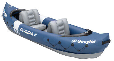 Sevylor Riviera 2 Person Inflatable Canoe