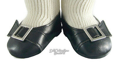 Colonial Buckle Shoes fits18