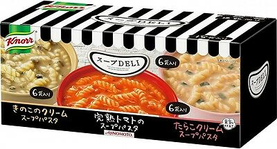 Knorr DELI Instant Soup Pasta Variety Box 18 bags Made in Japan Free Shipping